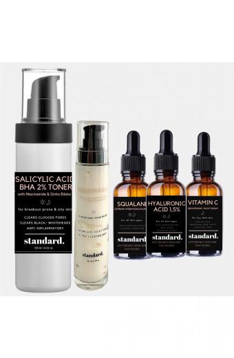 Standard. Beauty Normal Skin Starter Kit