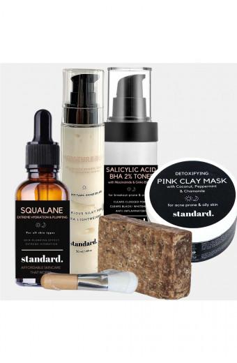 Standard. Beauty Oily Skin Starter Kit