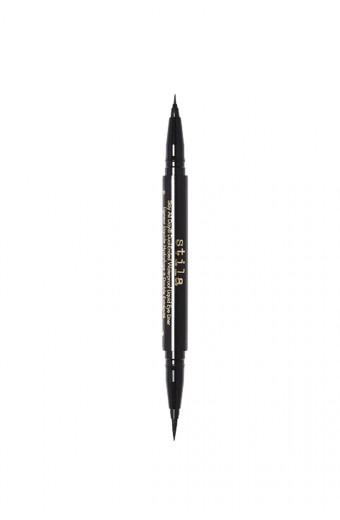 Stila Stay All Day Dual-Ended Waterproof Liquid Eyeliner - Intense Black
